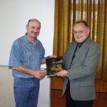 Bernd Röcker dankt dem Verein